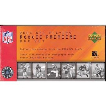 2004 Upper Deck NFL Players Rookie Premiere Football Box Set