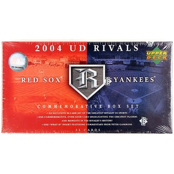 2004 Upper Deck Rivals Yankees Vs Red Sox Baseball Factory Set (Box)