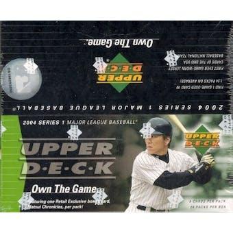 2004 Upper Deck Series 1 Baseball 24 Pack Box