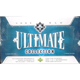 2004 Upper Deck Ultimate Collection Baseball Hobby Box