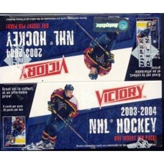 2003/04 Upper Deck Victory Hockey Box