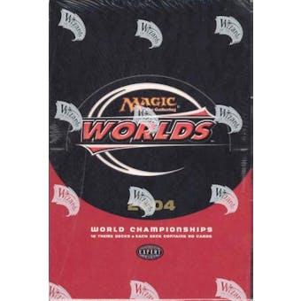 Magic the Gathering World Championship Deck Box (2004) (Reed Buy)