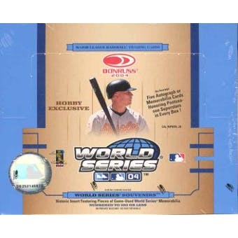 2004 Donruss World Series Baseball Hobby Box