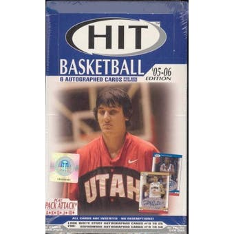 2005/06 Sage Hit Basketball Hobby Box