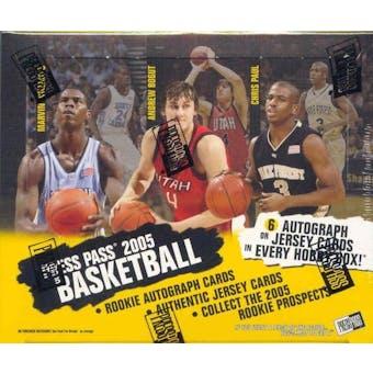 2005/06 Press Pass Basketball Hobby Box