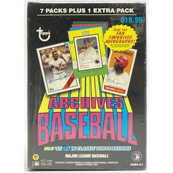 2013 Topps Archives Baseball Blaster Box