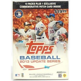 2013 Topps Update Baseball 10-Pack Box