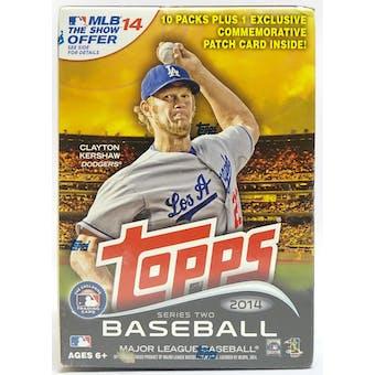 2014 Topps Series 2 Baseball 10-Pack Box