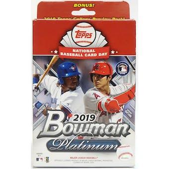 2019 Bowman Platinum Baseball Hanger Box