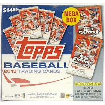 2013 Topps Update Series Baseball Mega Box