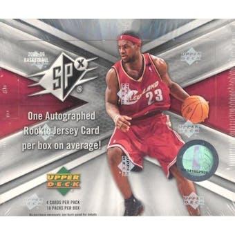 2005/06 Upper Deck SPx Basketball Hobby Box