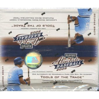 2005 Playoff Absolute Memorabilia Baseball 24-Pack Box