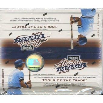 2005 Playoff Absolute Memorabilia Baseball 24-Pack Box