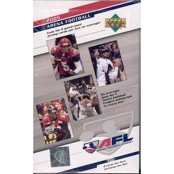 2005 Upper Deck Arena Football Hobby Box