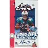 2005 Topps Chrome Football Hobby Box