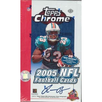 2005 Topps Chrome Football Hobby Box