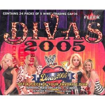 2005 Fleer WWE Divas Wrestling Hobby Box
