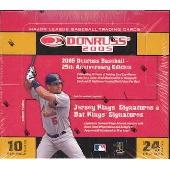 2005 Donruss Baseball Hobby Box