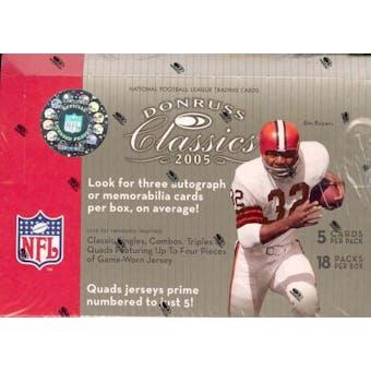 2005 Donruss Classics Football Hobby Box