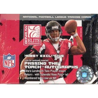 2005 Donruss Elite Football Hobby Box
