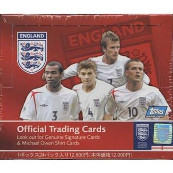 2005 Topps Soccer England Hobby Box (Japan distribution)