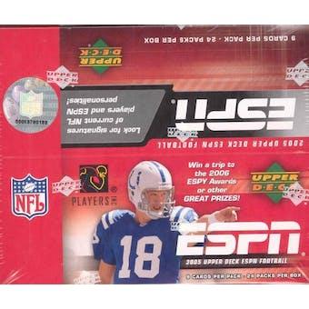 2005 Upper Deck ESPN Football Hobby Box