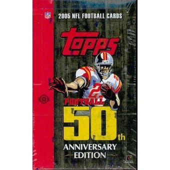 2005 Topps Football Hobby Box