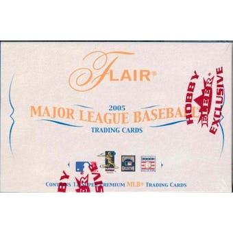 2005 Fleer Flair Baseball Hobby Box
