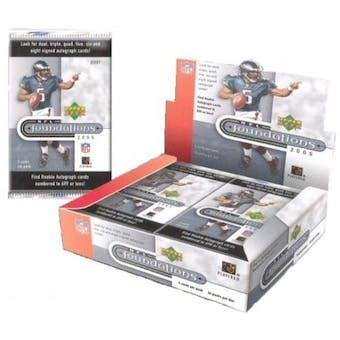 2005 Upper Deck Foundations Football Hobby Box