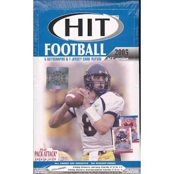 2005 Sage Hit ACC Edition Football Hobby Box
