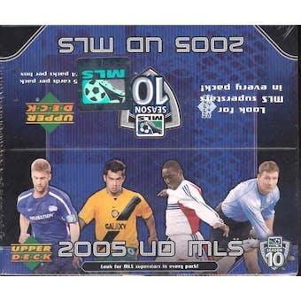 2005 Upper Deck MLS Major League Soccer Hobby Box