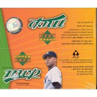 2005 Upper Deck MVP Baseball 24 Pack Box