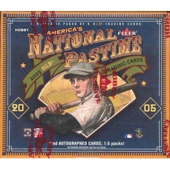2005 Fleer National Pastime Baseball Hobby Box