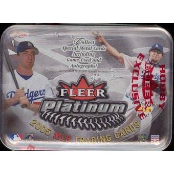 2005 Fleer Platinum Baseball Hobby Box