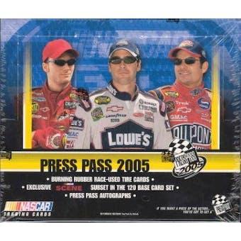 2005 Press Pass Racing Hobby Box
