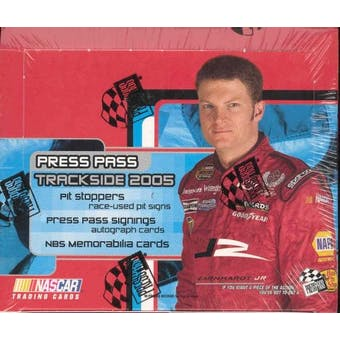 2005 Press Pass Trackside Racing Hobby Box