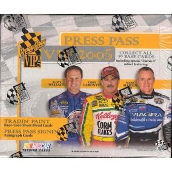 2005 Press Pass VIP Racing Hobby Box