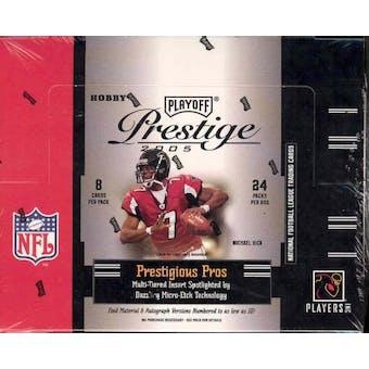 2005 Playoff Prestige Football Hobby Box