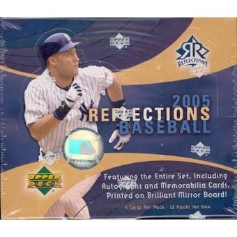 2005 Upper Deck Reflections Baseball Hobby Box
