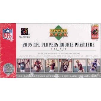 2005 Upper Deck Rookie Premiere Football Hobby Set (Box)
