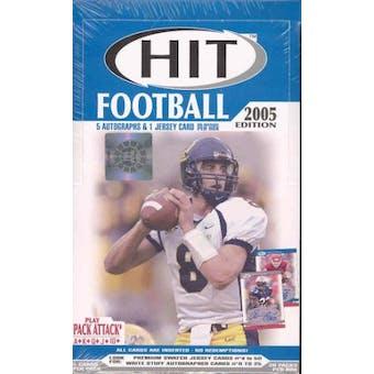 2005 Sage Hit Football Hobby Box