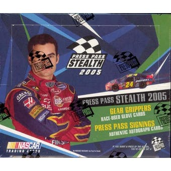 2005 Press Pass Stealth Racing Hobby Box