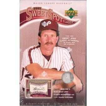 2005 Upper Deck Sweet Spot Classic Baseball Hobby Box