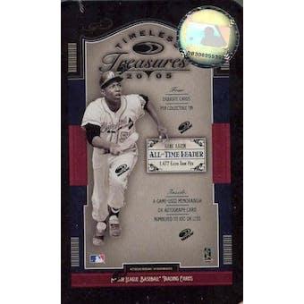 2005 Donruss Timeless Treasures Baseball Hobby (Tin) Box