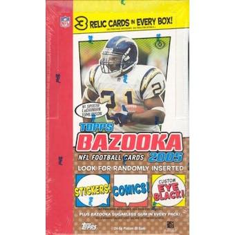 2005 Topps Bazooka Football Hobby Box