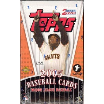 2005 Topps Series 2 First Edition Baseball Box