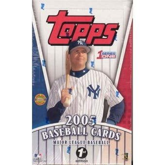 2005 Topps Series 1 First Edition Baseball Box