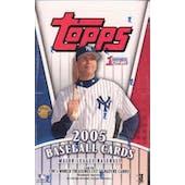 2005 Topps Series 1 Baseball Jumbo Box