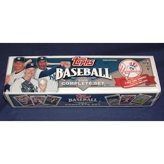 2005 Topps Factory Set Baseball (Box) (N.Y. Yankees)