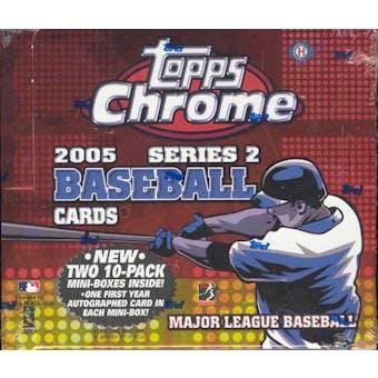 2005 Topps Chrome Series 2 Baseball Hobby Box